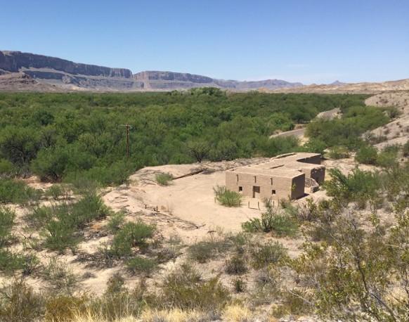 Photo of Alvino House with view of Santa Elena Canyon