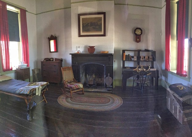 photo of bachelor officer's quarters interior