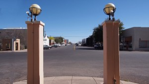 photo of Presidio Courthouse view of Highland Street