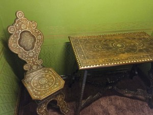 photo of Chair and table