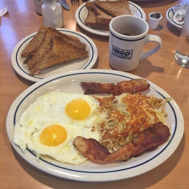 photo of the Classic IHOP breakfast