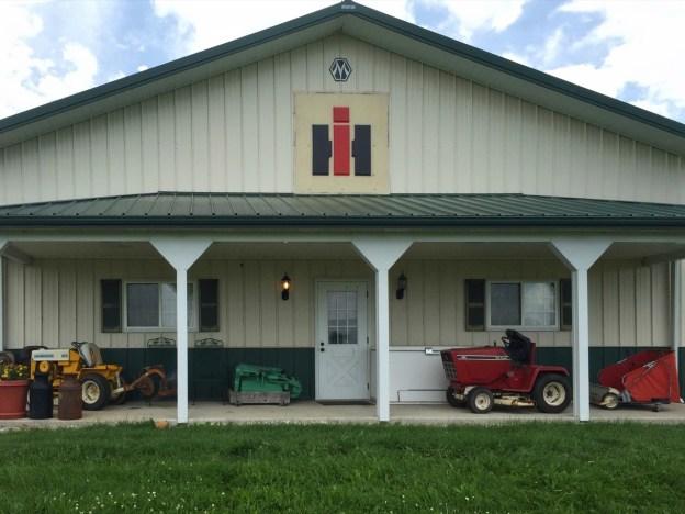 photo of the Darst International Harvester Museum