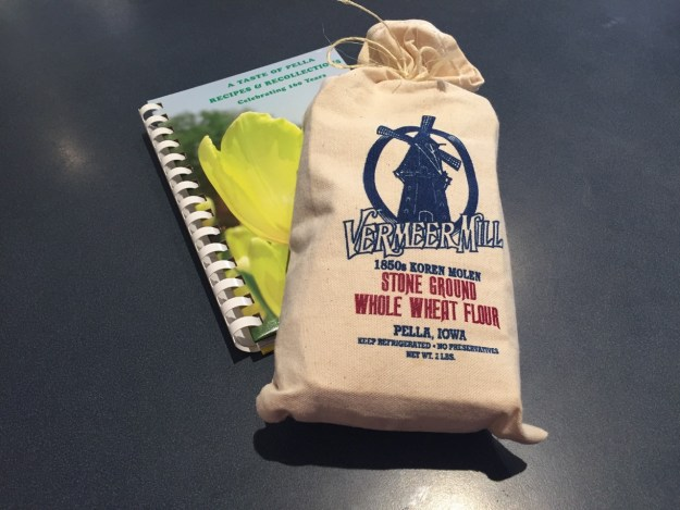 photo of the Pella Cookbook and Windmill Flour
