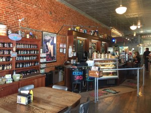 photo of the interior of the Smokey Row Coffee Shop