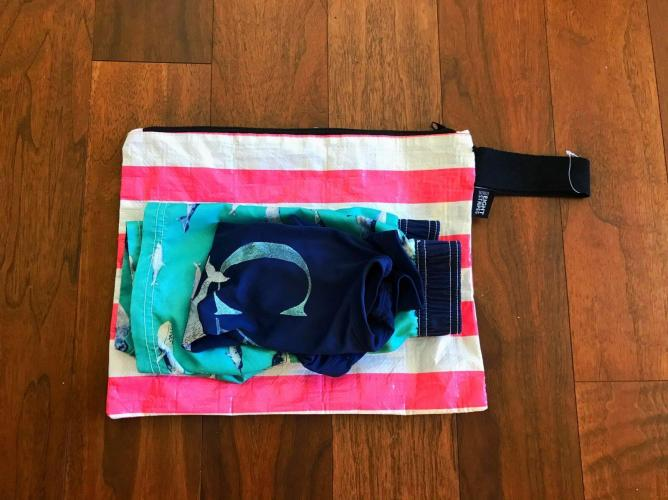 Wet Bag Eight Stripes