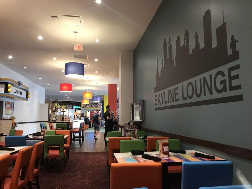 LEGOLAND Sykline Lounge