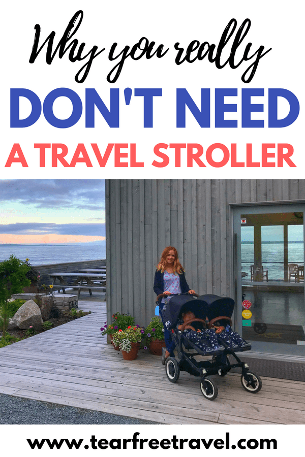 What is the best travel stroller? I'm asked this question all the time, and my answer is always the same: The best stroller for travel is the one you already have at home! Double stroller or single stroller, you won't regret the conveniences of a full-size stroller when you travel. I'll review my top picks including the Bugaboo stroller, Uppababy stroller and the best carseat and stroller combo. You might not need a lightweight or compact stroller for travel, read my review!