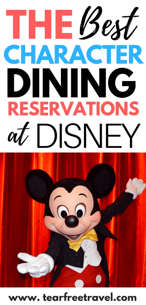 Are you looking for the best Disney Character Dining? We've got the 4-1-1 on the best Disney World Character Dining experiences. Whether you want to have breakfast with Mickey, lunch with the princesses or dinner with Donald, we'll let you know where the best spots are to enjoy Disney dining with the characters. These tips are perfect for your next Disney vacation. #Disney #Disneyworld #Disneyvacation