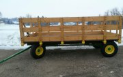 Wagon to be sold at auction.