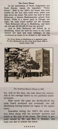 The Tower House History