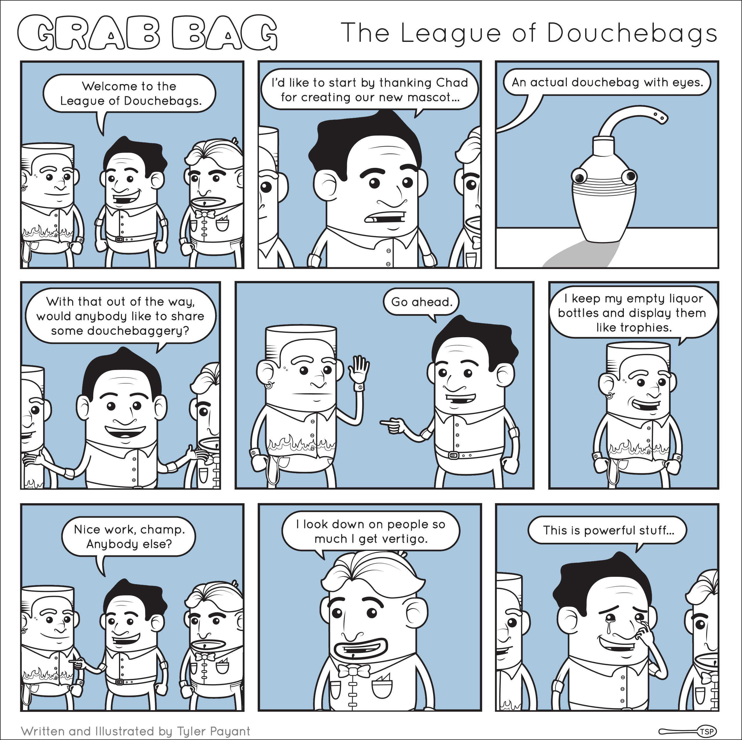 The League of Douchebags