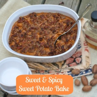 Sweet and Spicy Sweet Potato Bake