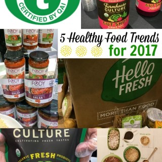 5 Healthy Food and Nutrition Trends You'll Be Seeing More of in 2017