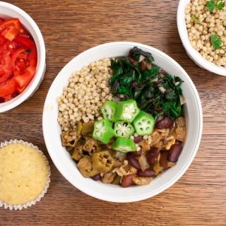 Vegetarian Soul Food Power Bowl