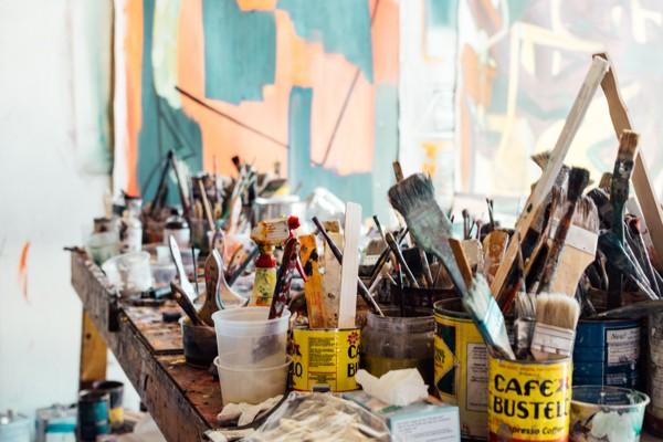 Paint, brushes...