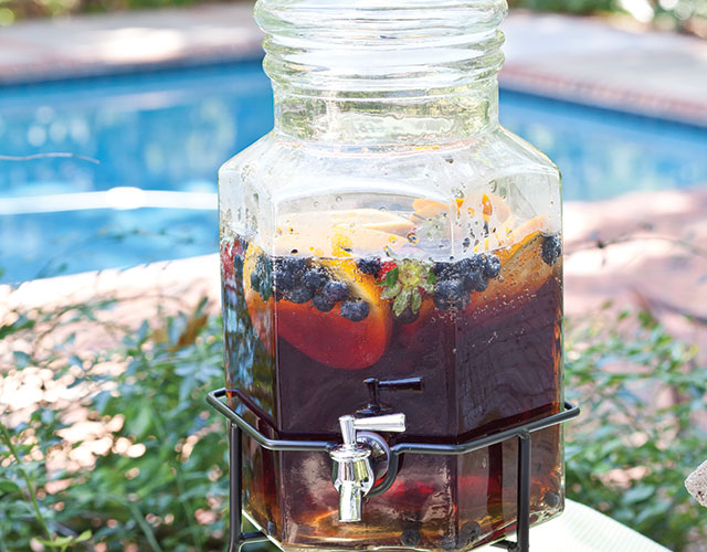 Blueberry Infusion Spritzer