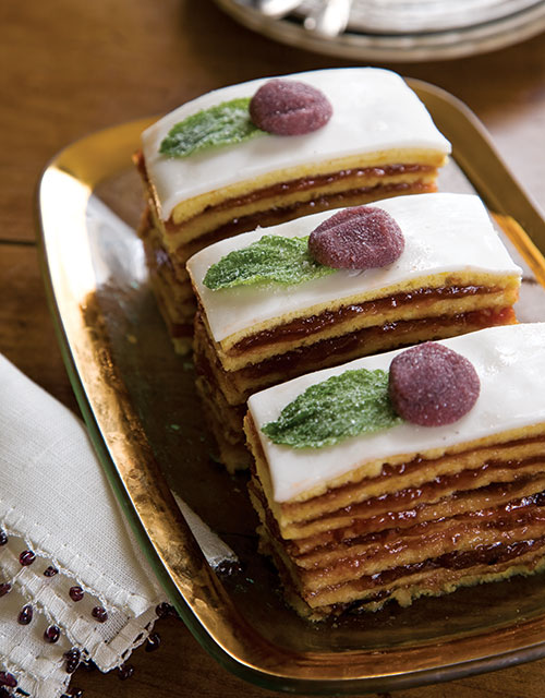 Sugarplum Dobosh Cake