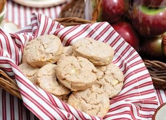apple brie scones