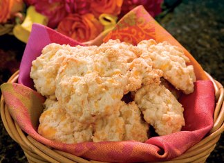 preview:Cheddar and Onion Scones Recipe