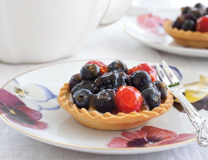 Triple Berry Tartlets