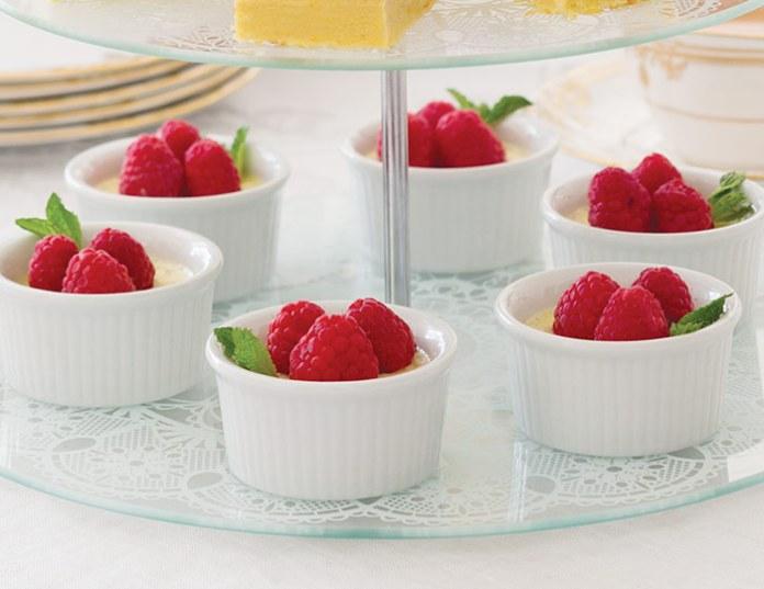 Vanilla Bean Pots de Crème