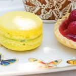 Lemon Macarons with Basil-Lemon Filling