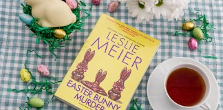 Leslie Meier's Easter Bunny Murder is a Real Page Turner