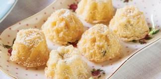 Petite Lemon-Basil Pound Cakes