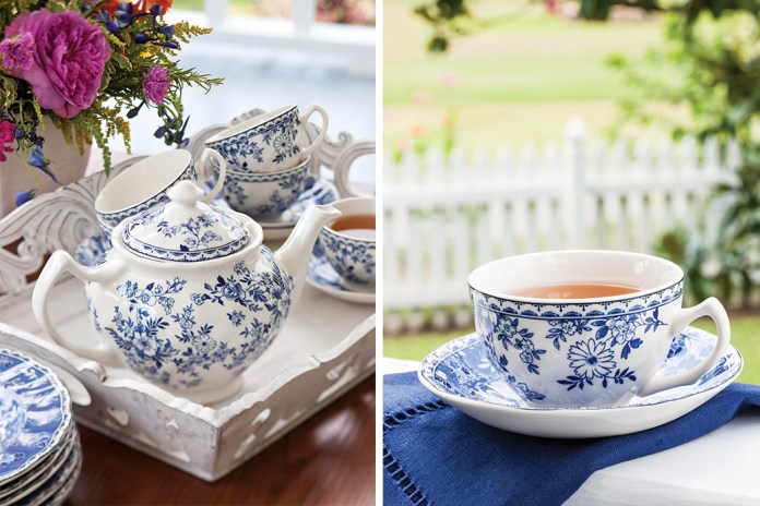 Summertime Tea on the Porch
