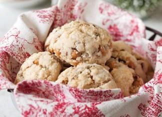 Gluten-free Pecan-Butterscotch Scones