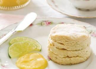 Mango-Lime Scones