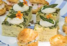 Asparagus-Topped Frittata Bites