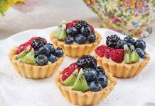 Elderflower Fruit Tartlets