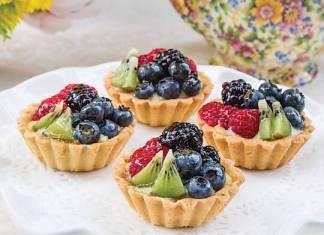 Elderflower Fruit Tartlets