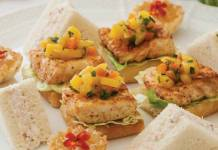 Tarragon-Shrimp Sandwiches
