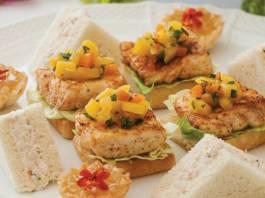 Tarragon-Shrimp Sandwiches