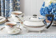Treasured Teapot: Silver in the Summer