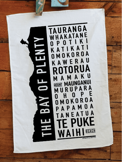Bay of Plenty Teatowel