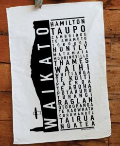 Waikato Printed Teatowel