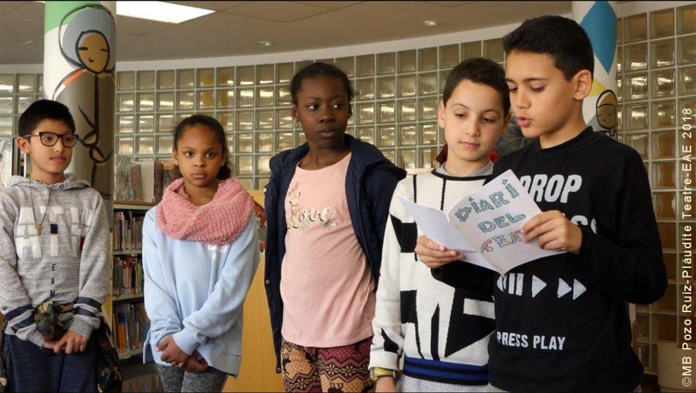 Tàndem de Teatre a l'Escola Foch i Torras