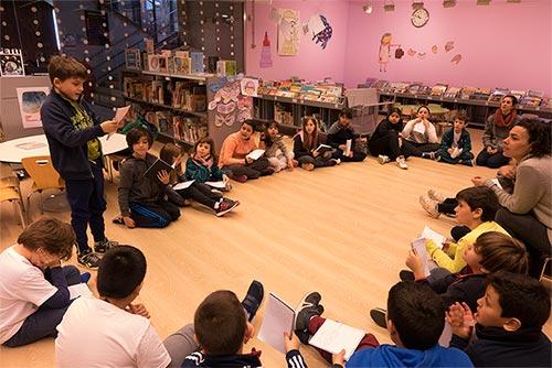 Fem Tàndem de Teatre a l'escola Milagros Consarnau