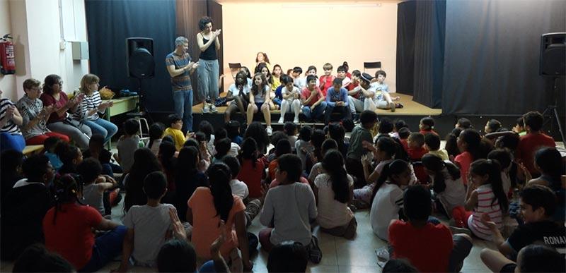 Fem Tàndem de Teatre a l'escola Folch i Torras