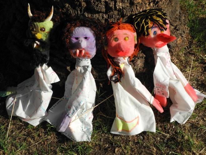 Teatrino del Sole, burattini, marionette, pupi, ombre