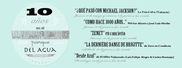 X Aniversario Teatro Arbolé Zaragoza