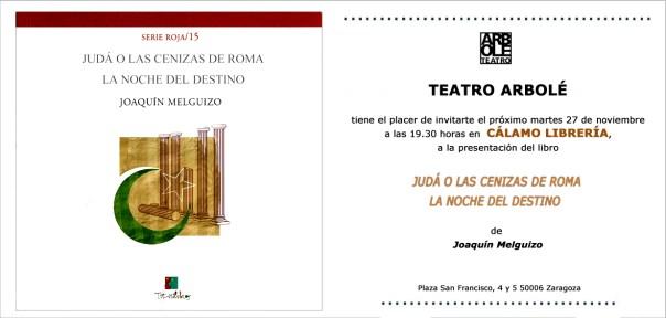 Arbolé Editorial edita un libro de Joaquín Melguizo