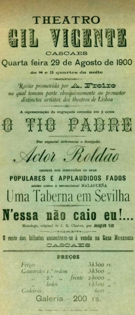 RECITA PROMOVIDA POR A.FREIRE