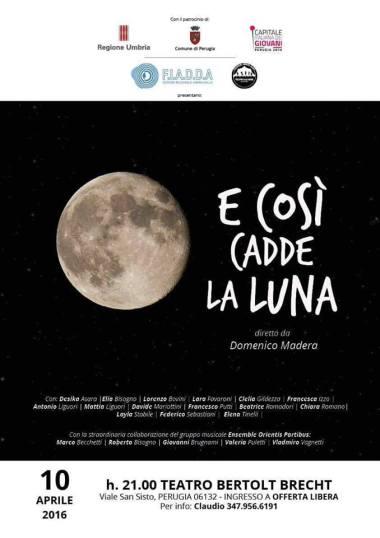 cadde la luna