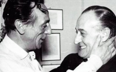 Eduardo De Filippo e Totò: un'amicizia vera.