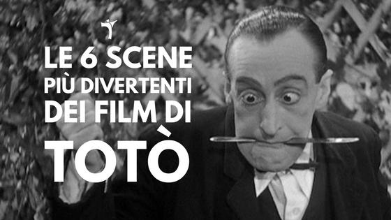 6 scene esilaranti dai film di Totò