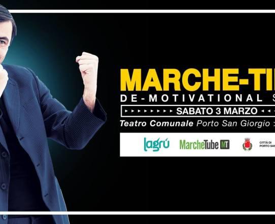 Marche-Ting: il demotivational show di Piero Massimo Macchini